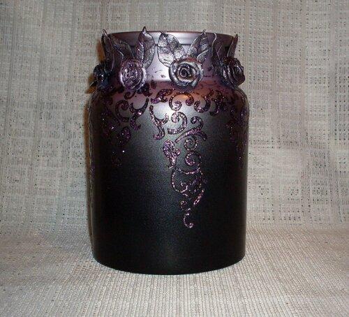 ваза с лепниной