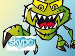 Вирусы атакуют через программу Skype и соц. сети