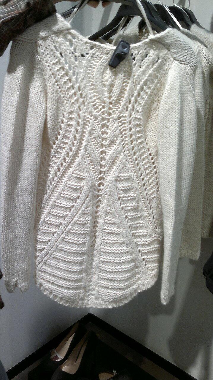 外网热仿的白毛衣 - 纤纤起舞 - 纤纤起舞