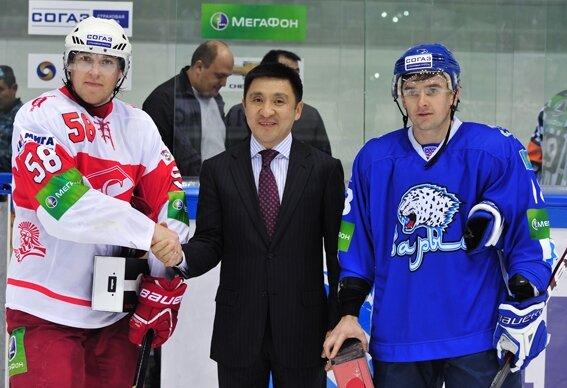 «Барыс» vs «Спартак» 5:1 чемпионат КХЛ 2012-2013 (Фото)
