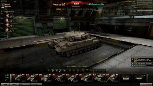 Caernarvon танк