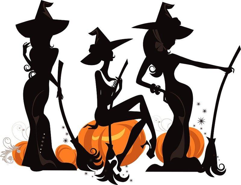 Картинки шабаш ведьмочек прикольные, надписью стрим