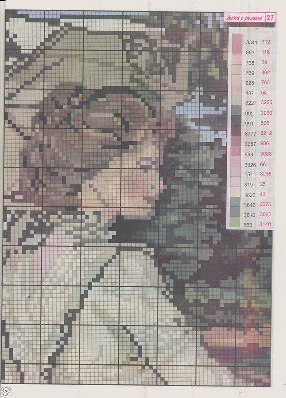 Небольшой журнальчик для вышивки крестиком только с цветными схемами.  Месяц / Год: 04(2010).