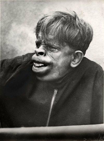 Человек-обезьяна, найденный в джунглях Бразилии в 1937 году