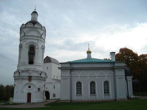 Колокольня и церковь Георгия Победоносца