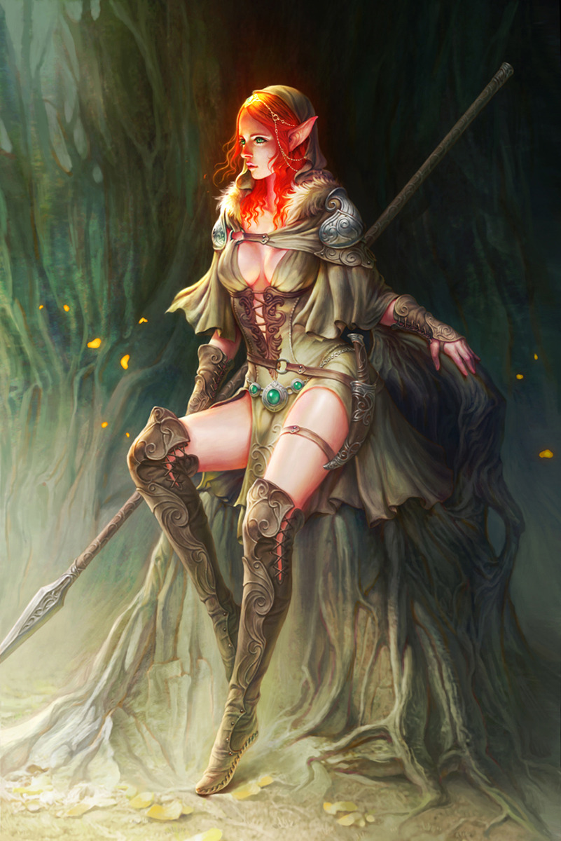 Red head elf nude pics