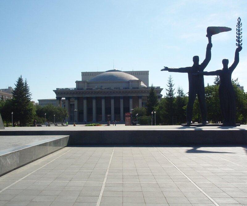 Оперный театр Новосибирска