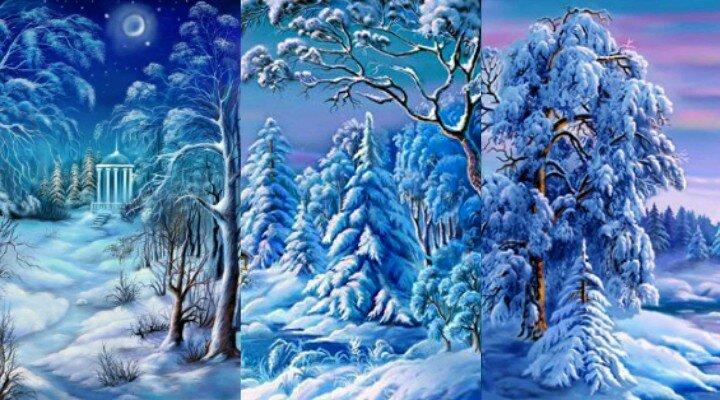 На зима обои яндекс