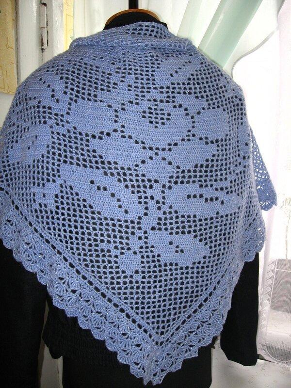 Голубая шаль