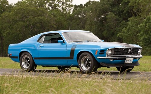 Ford Mustang Shelby GT500 [1970]
