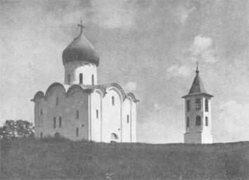 Церковь Спаса Нередицы близ Новгорода