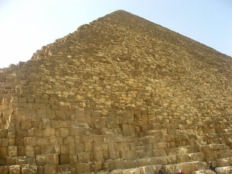 Пирамиды Гизы в Египте - три великие пирамиды Хеопса, Хефрена и Микерина - ЮНЕСКО, Руины, Пустыня, Достопримечательности - egypt, giza