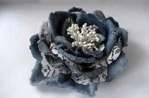 Цветы из джинсовой ткани - Страница 3 0_9d697_a2e920_M