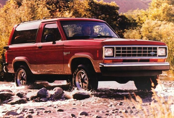 Ford Bronco II Автомобиль Ford Bronco II был невероятно популярен в свое время, во многом благодаря