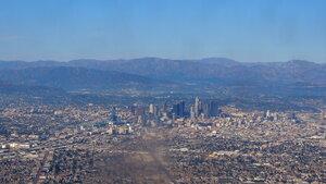Перелёт DME-LAX, Лос-Анжелес