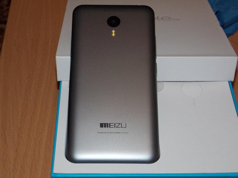 Meizu M2 Note (задняя панель)