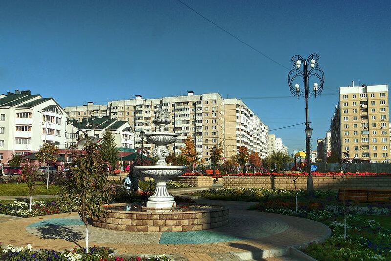 Есенинский фонтан, Белгород, фото SanchesS, 2012.