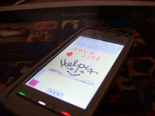 Nokia 5228 для Helpix