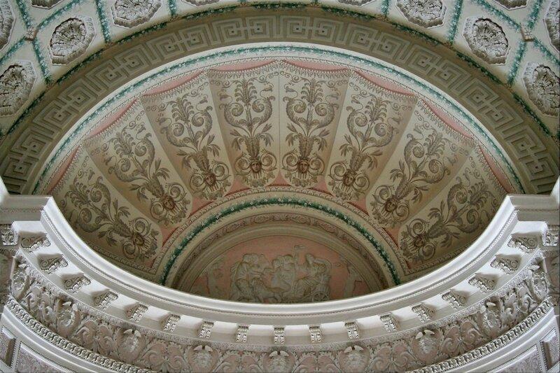 Павловский дворец, Туалетная императора Павла I, фрагмент