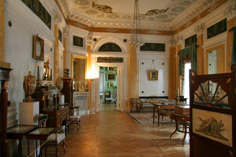 Павловский дворец, жилые комнаты Марии Федоровны, Пилястровый кабинет