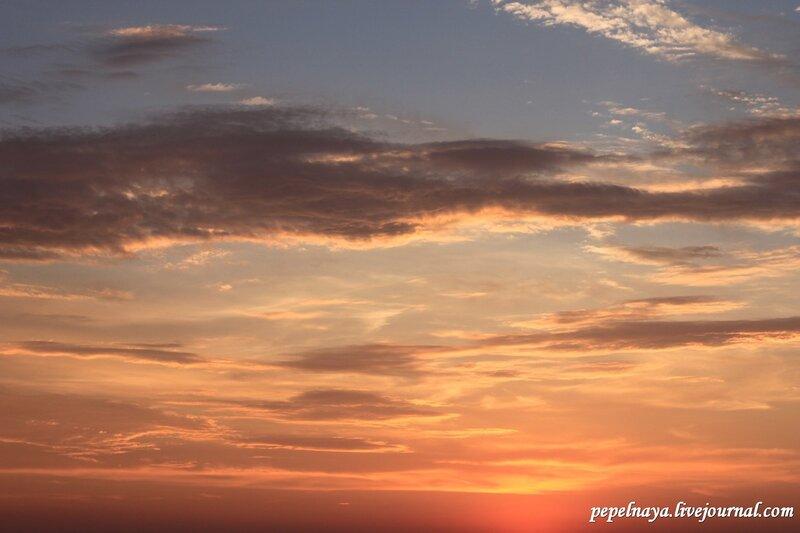 закат, теплоход, круиз, лето 2012, свирь