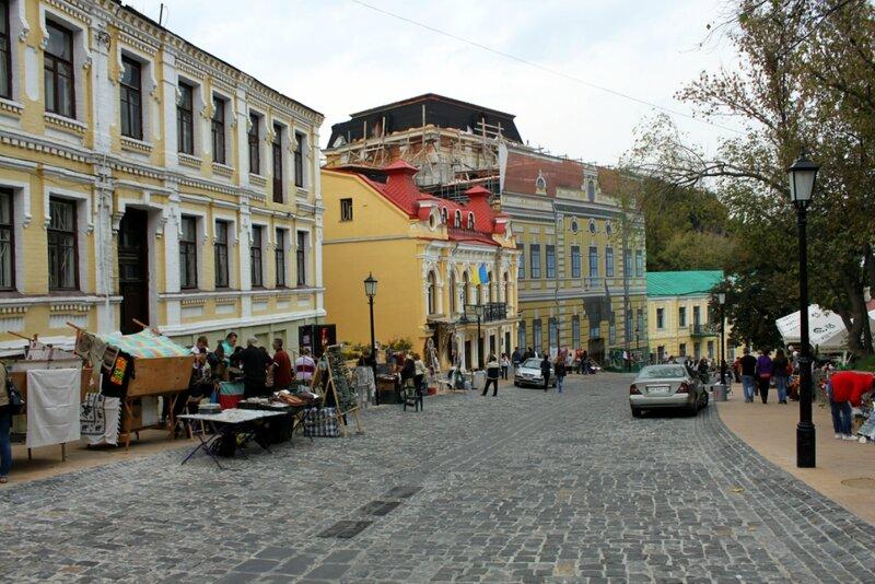 Строительство новой гостиницы на Андреевском спуске