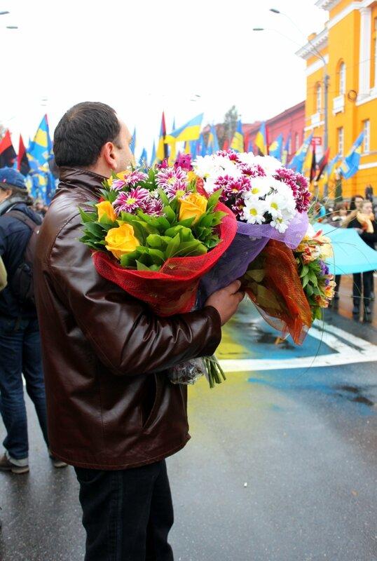 Цветы для Бандеры