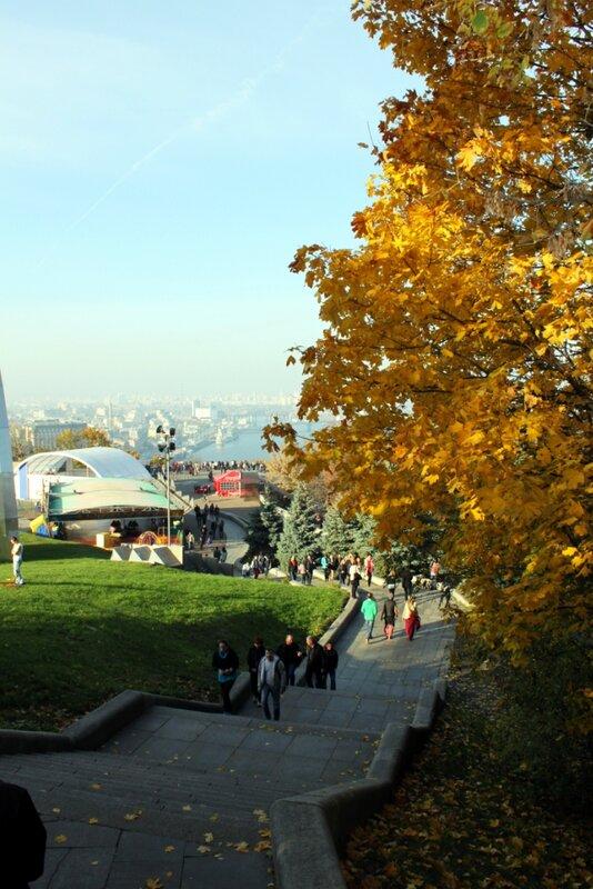 Лестница Хрещатого парка