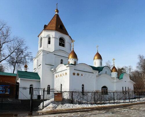 Церковь Николая Чудотворца в Правдинском
