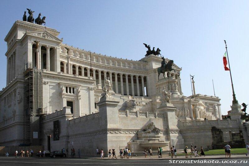 Италия, Рим, Траянский рынок