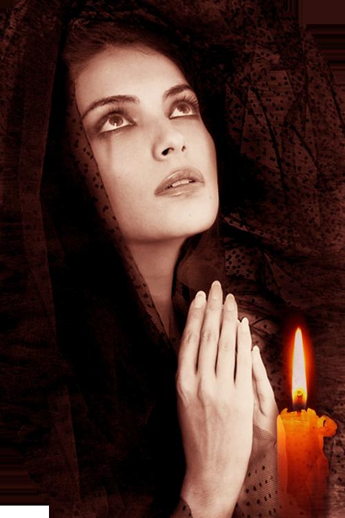 Молящаяся женщина Ольги Витман