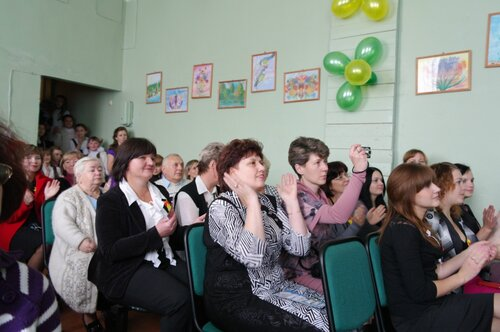 Максатихинская школа № 1 отметила свой 95-летний юбилей