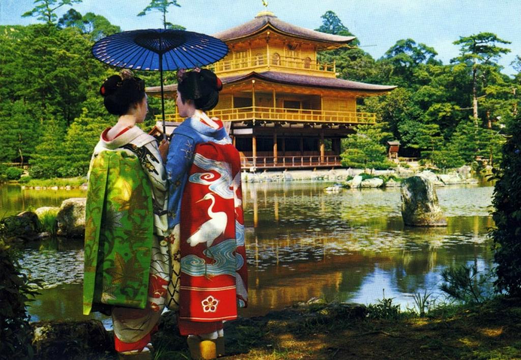 Золотой павильон в Киото