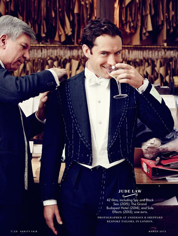Лучшие британские актеры в проекте The 2015 Hollywood Portfolio by Jason Bell in Vanity Fair march 2015 - Джуд Лоу / Jude Law