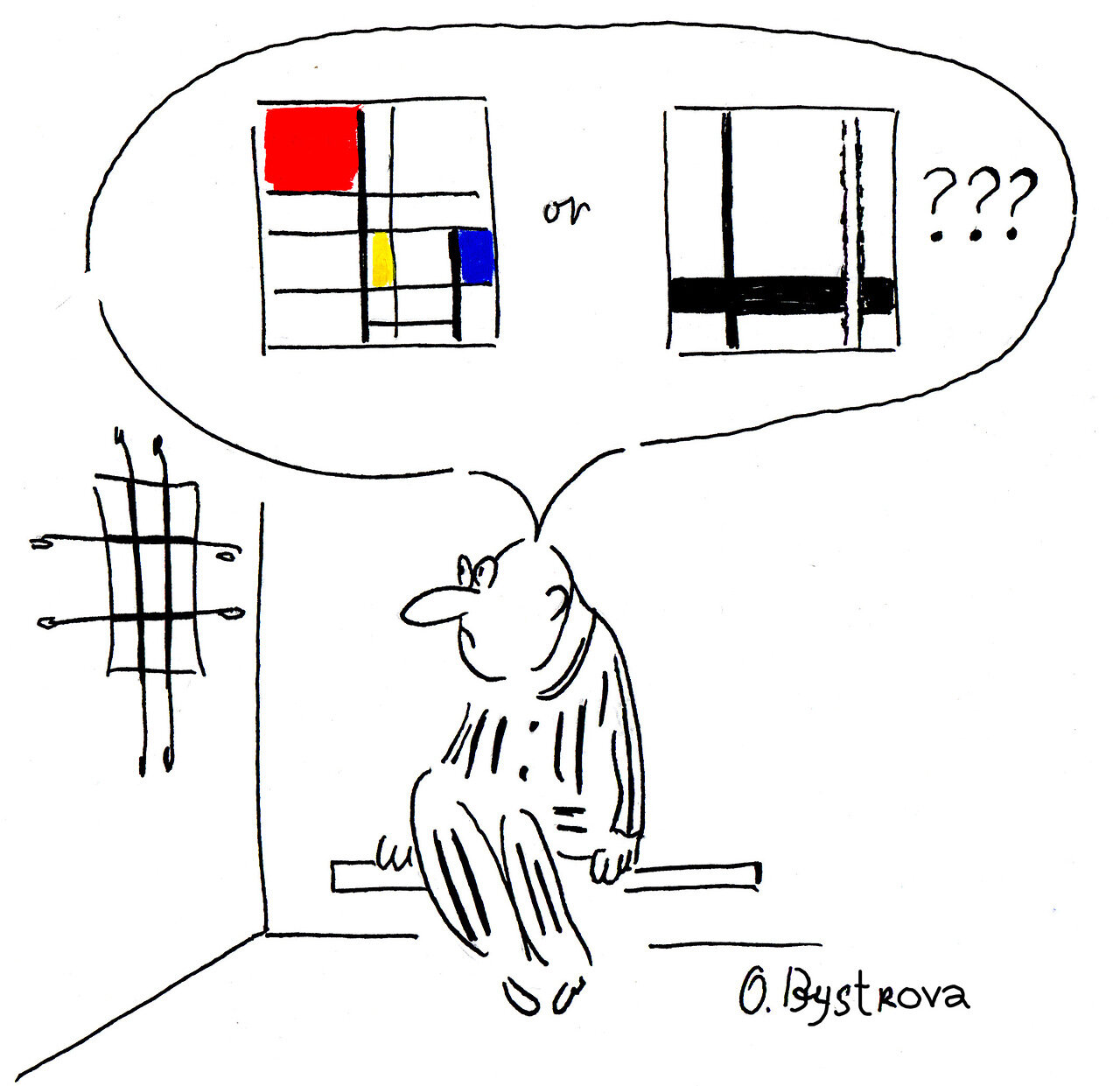 Mondrian ? Partout ?