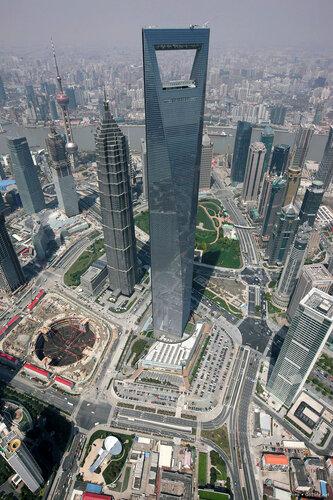 www.Go2life.net • Всемирный Финансовый Центр в Шанхае - четвертый по высоте