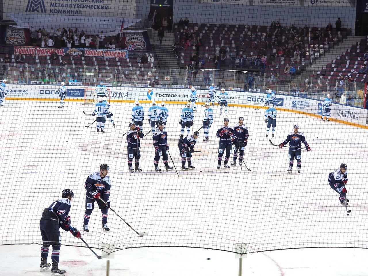 35Плей-офф 2016 Восток 1/2 Металлург - Сибирь 16.03.2016