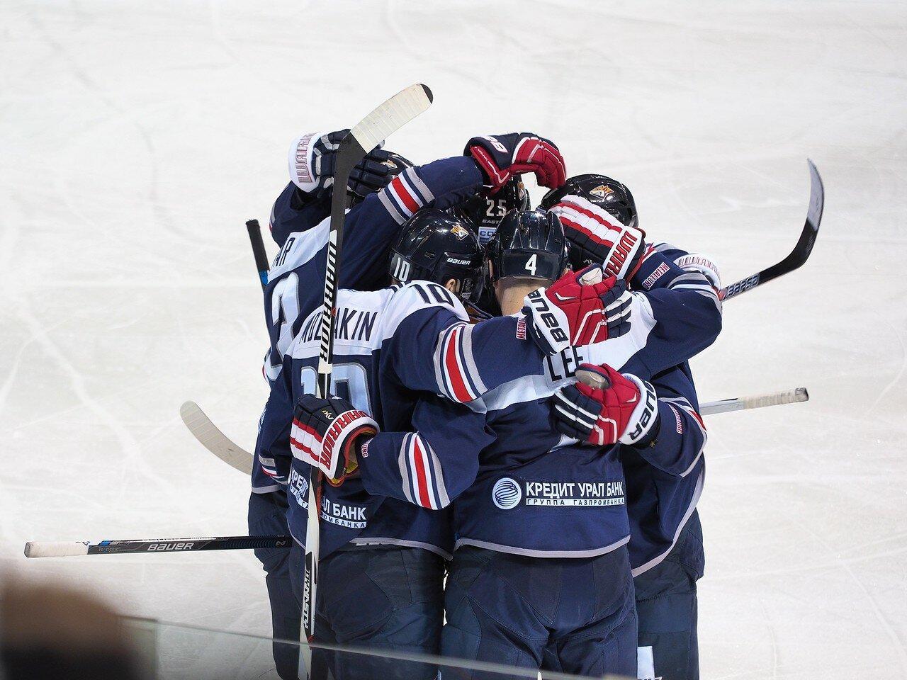 46Плей-офф 2016 Восток 1/2 Металлург - Сибирь 16.03.2016