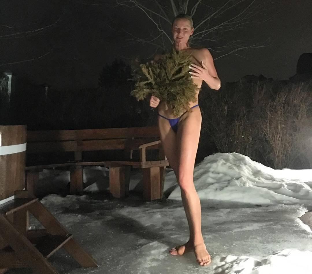 Волочкова вновь шокирует фотографиями из бани