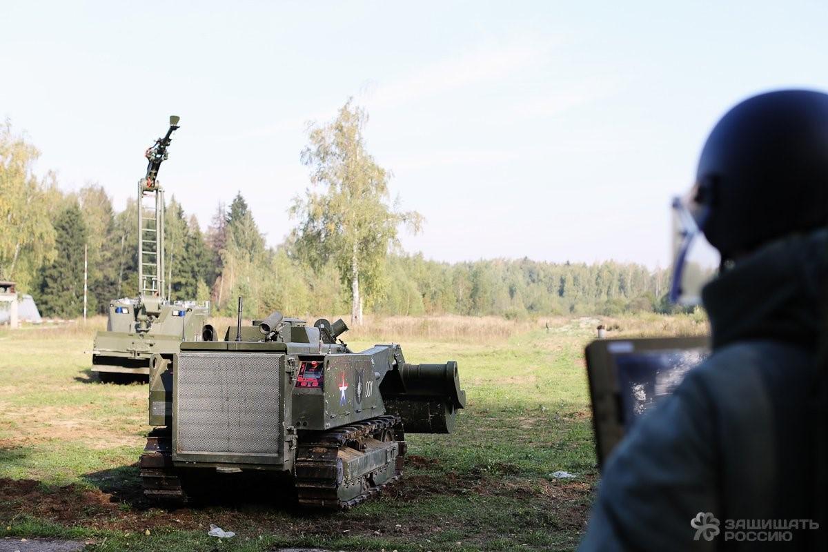 """Российские боевые роботы """"Уран"""" -  — LiveJournal"""