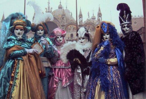Карнавал в Венеции, венецианские маски