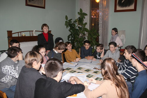 8б в музее Н.Островского