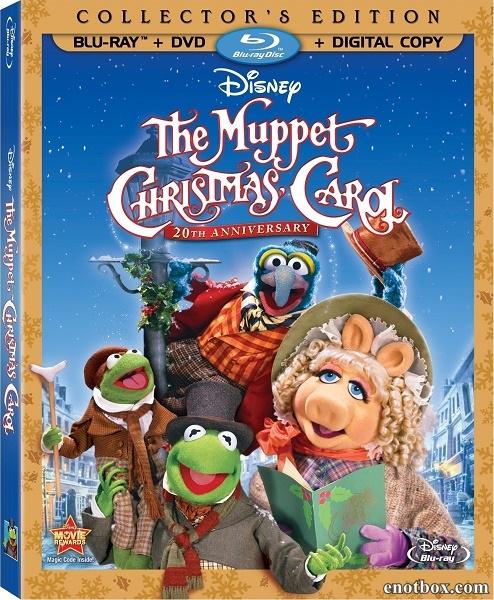 Рождественская сказка Маппетов / The Muppet Christmas Carol (1992/HDTV/HDRip)