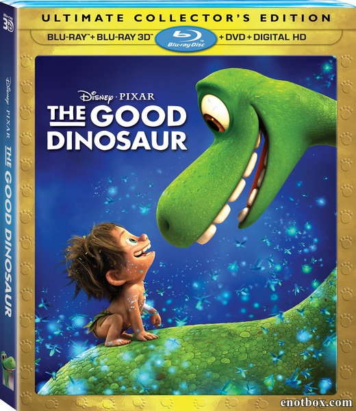 Хороший динозавр / The Good Dinosaur (2015/BD-Remux/BDRip/HDRip/3D)