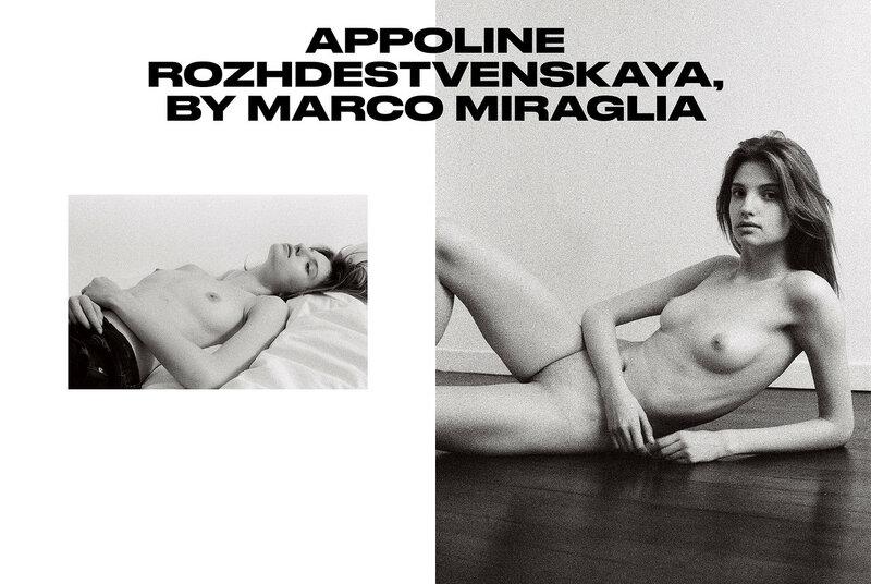 Appoline Rozhdestvenskaya by Marco Miraglia