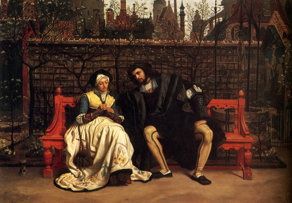 Faust and Marguerite in the Garden, 1861.jpg