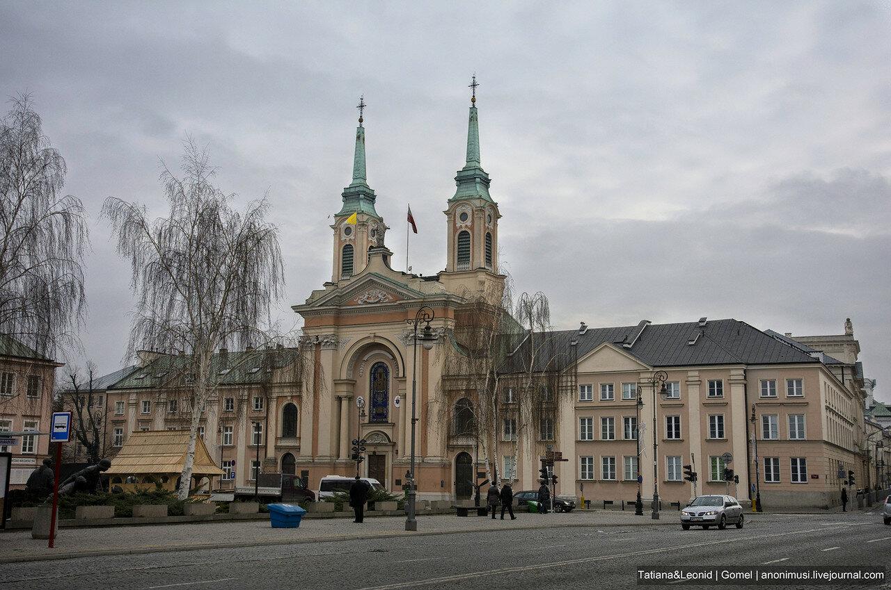 Рождественская Варшава. Польша