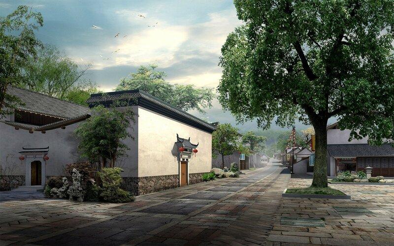 Красивые китайские пейзажи. Фотографии природы Китая, похожей на картины 0 1c4d59 6d1aac66 XL