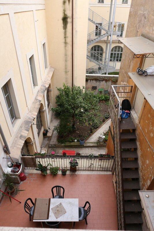 Рим. Квартира у площади Барберини