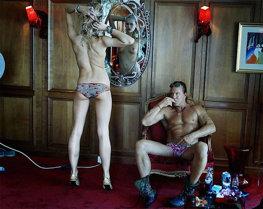 Микки Рурк — американский киноактер, бывший профессиональный боксер.